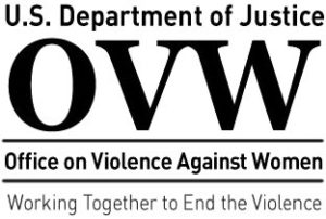 DOJ Office on Violence Against Women Logo