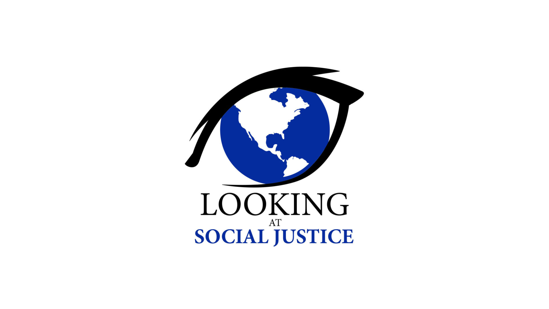 Looking At Social Justice Logo Cover Photo in Color