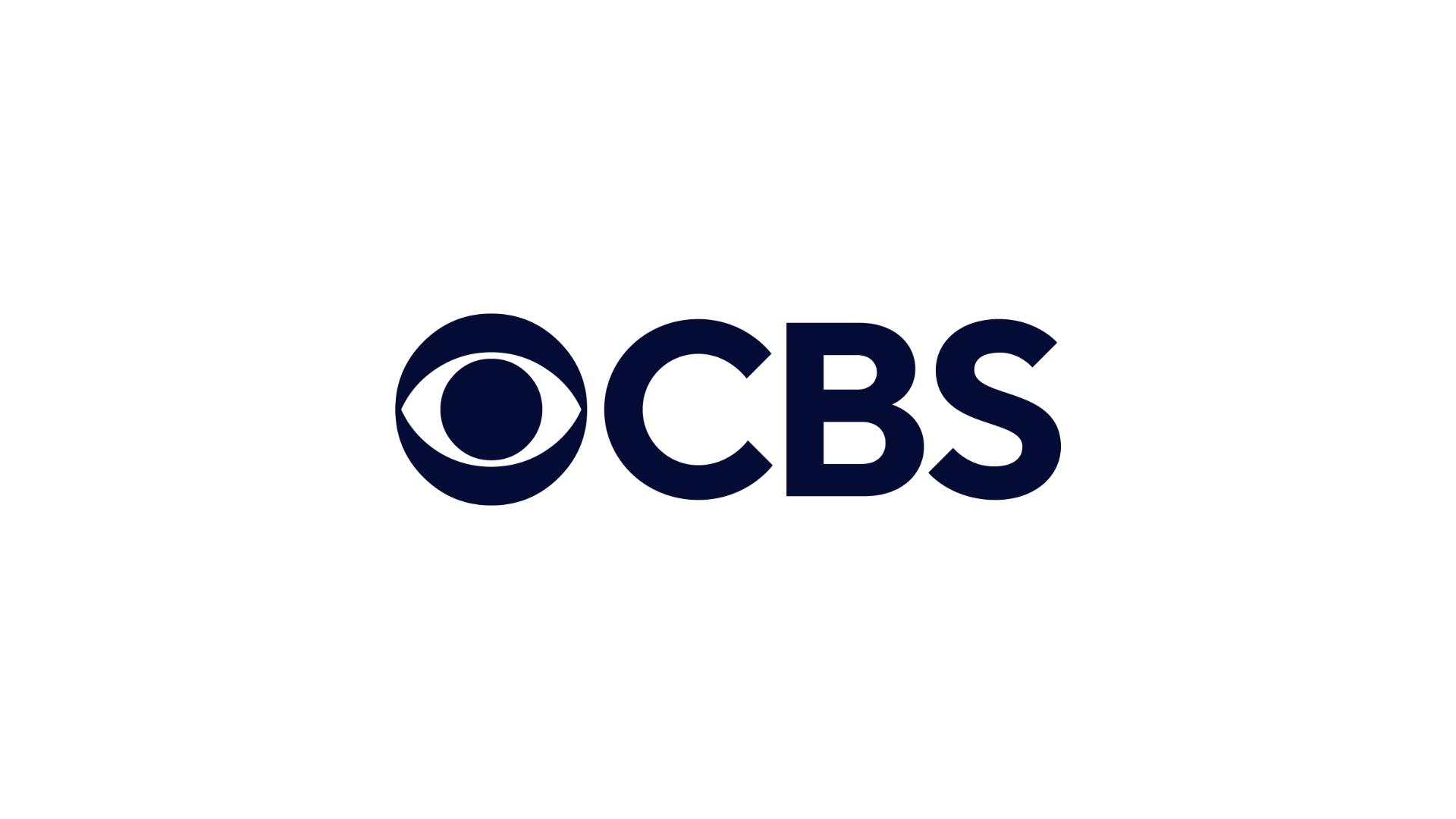 CBS Logo in Navy on White Background